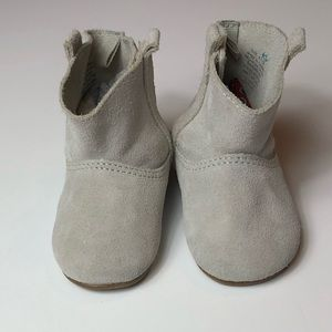 Baby Gap Grey Suede Boots